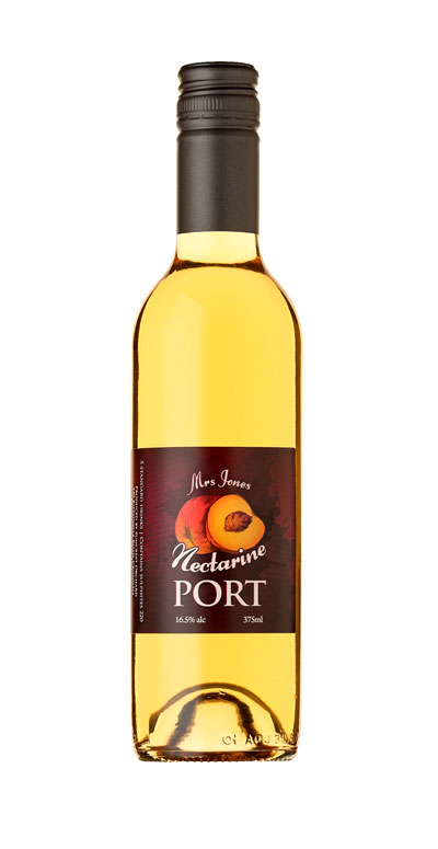 Mrs Jones Nectarine Port. Nectarine Fruit Port made by Suncrest Jones Family Orchard