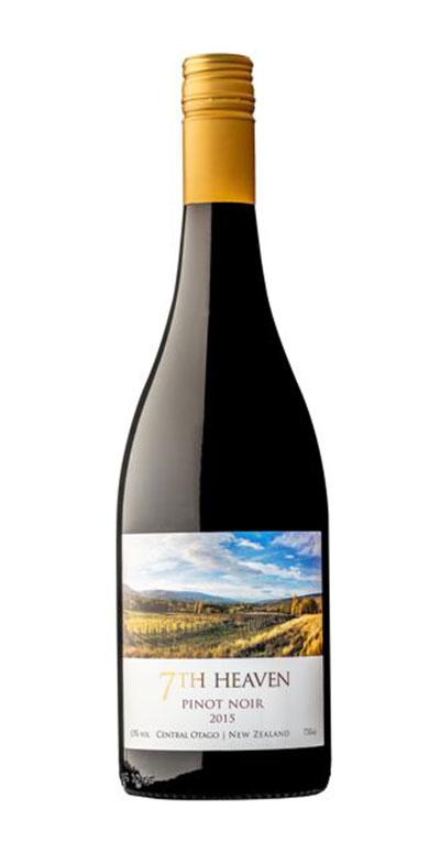 7th Heaven Central Otago Pinot Noir 2015 750ml