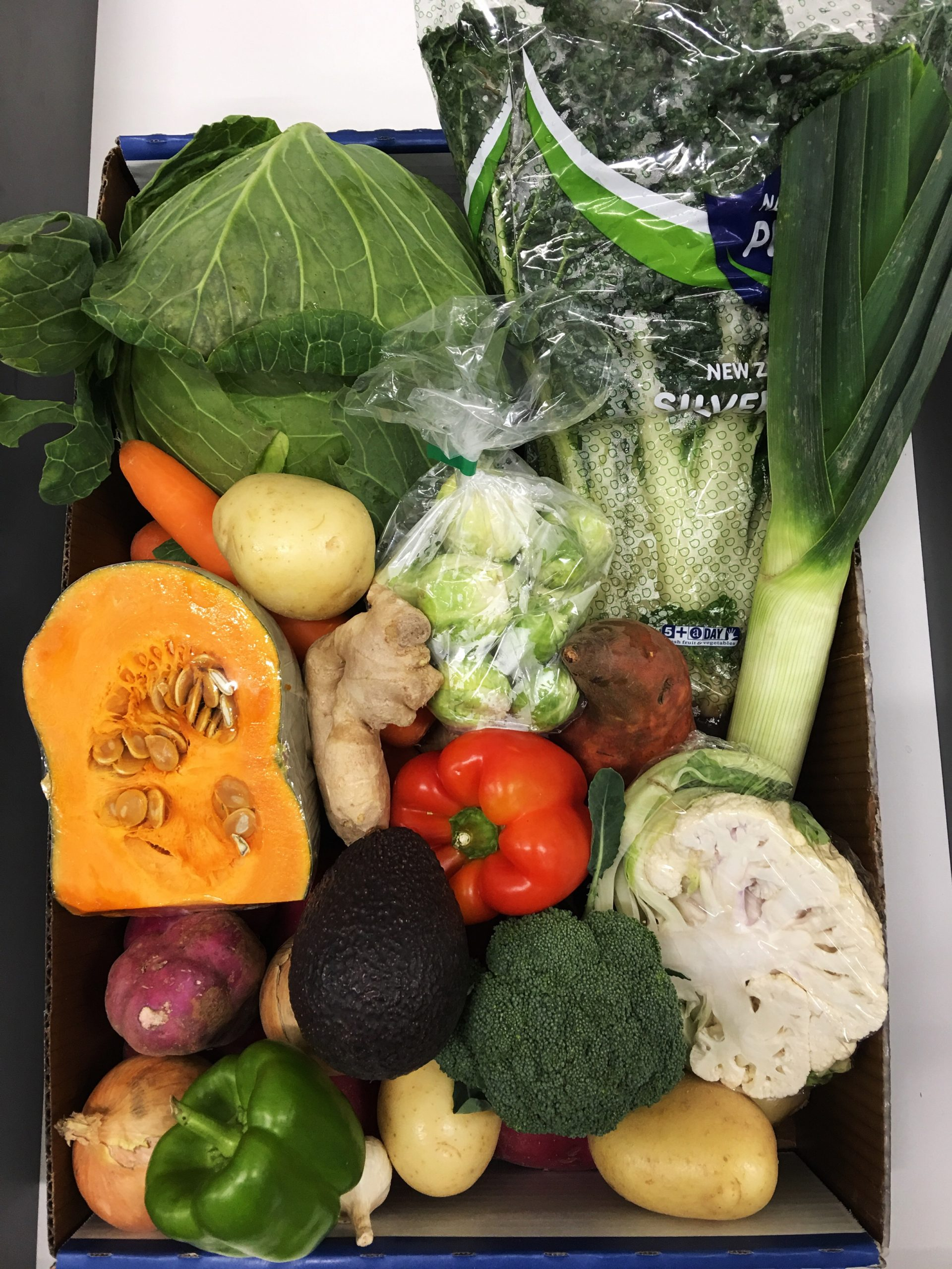 Large Vege Box