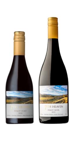 7th Heaven Vineyard in Cromwell, New Zealand. Central Otago Pinot Noir, Pinot Port